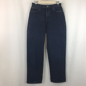 L.L. Bean High-Waisted Mom Jeans 12 (33 inseam)